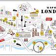 London Map n°1
