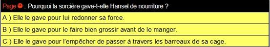 14 Hansel QCM