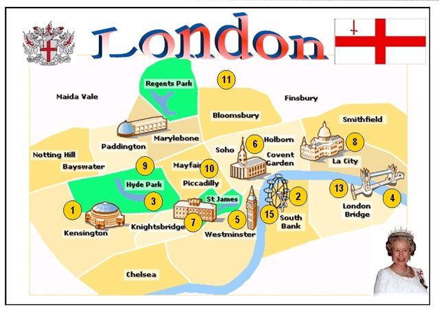 London Flash map n°2